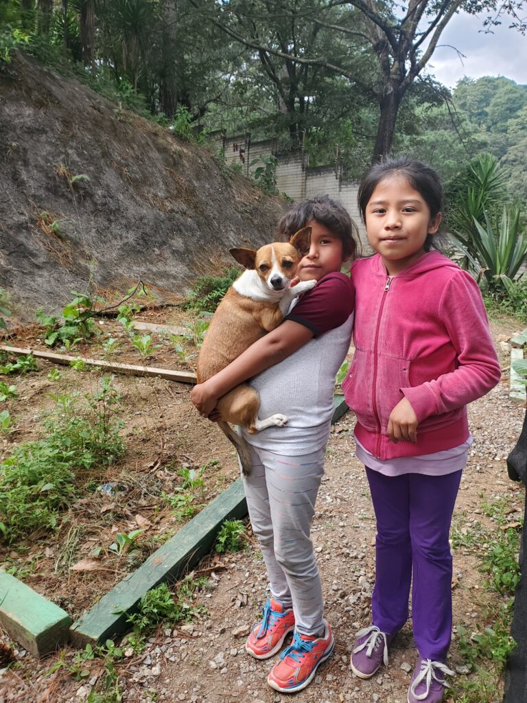Garden image from orphanage in Guatemala